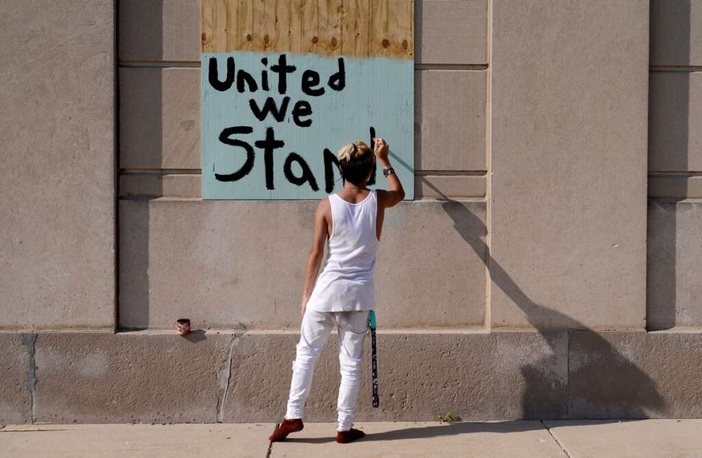 kenosha, us, city, united states, calm, jacob blake, shooting, police, black man