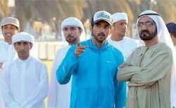Shaikh Mohammed attends Dubai International Endurance City Ride