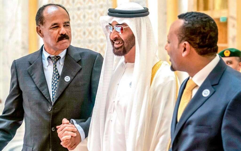 Eritrean, Ethiopian leaders hail UAE's role in ending