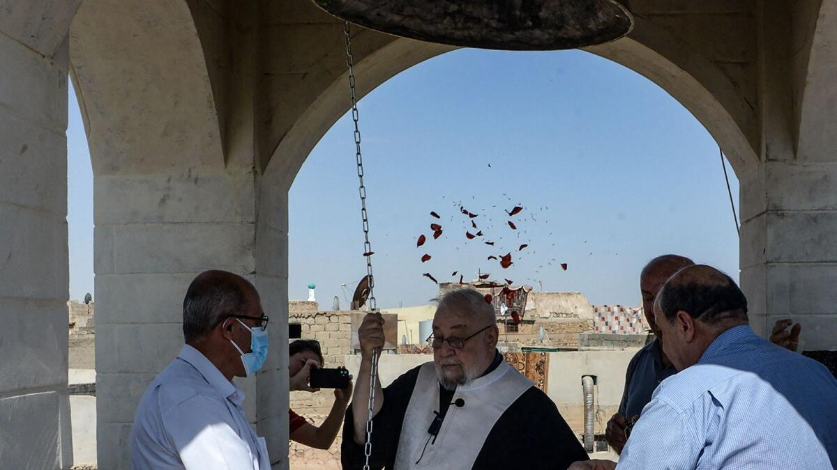 Iraq: Church in former Daesh stronghold gets new bell