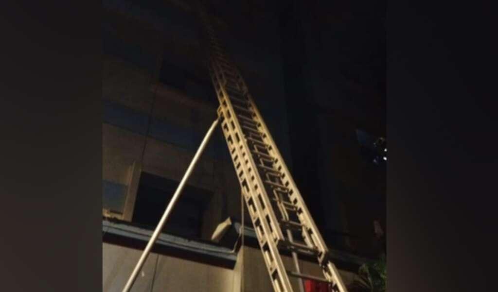 Mumbai hotel fire, doctors
