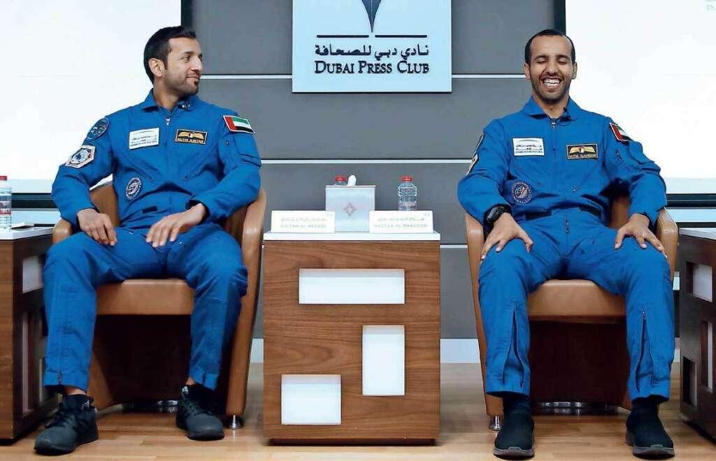 UAE, first, Emirati astronaut, Hazzaa AlMansoori, Hazzaa, space missions, Sultan AlNeyadi, GCC tour, F-16 pilot, UAE Astronaut Programme