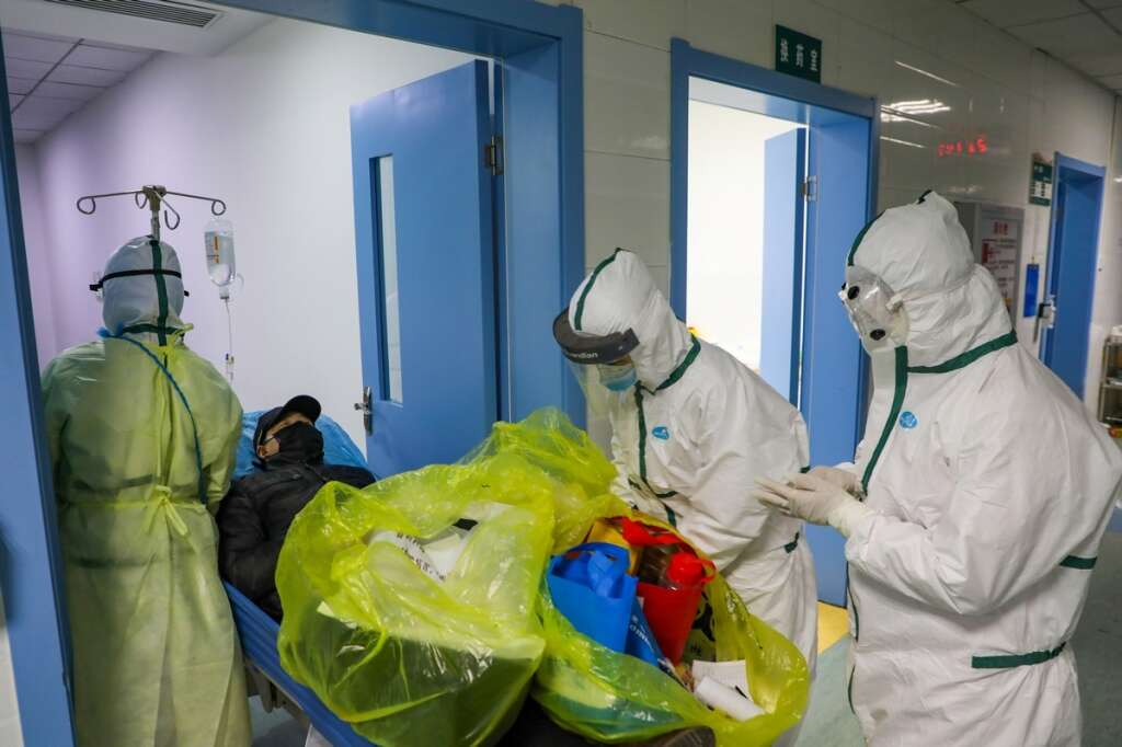 Global virus, cases, iceberg, WHO, World Health Organisation, Lunar New Year holiday, China,