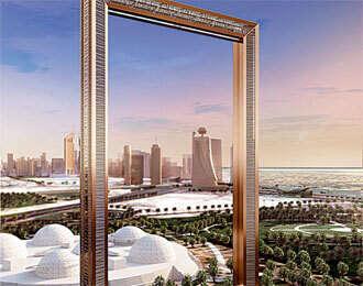 Construction of Dubai Frame to start in December