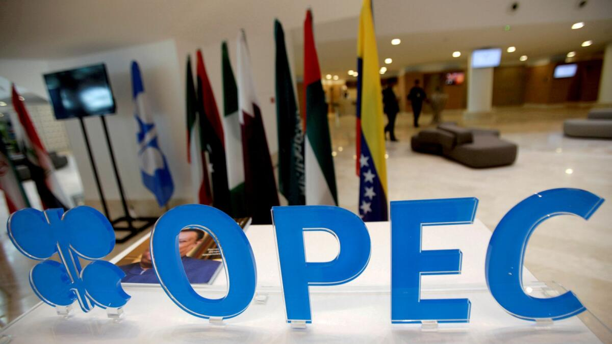 Ministers from The Organisation of the Petroleum Exporting Countries, Russia and their allies, known as Opec+, are due to gather online at 1300GMT. — File photo