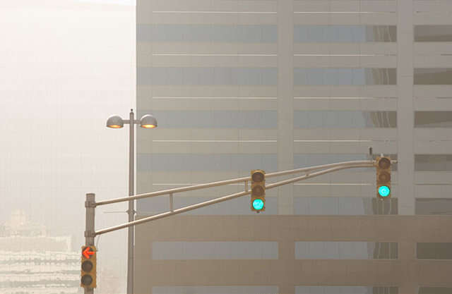 The reason why traffic signals break down in Ras Al Khaimah