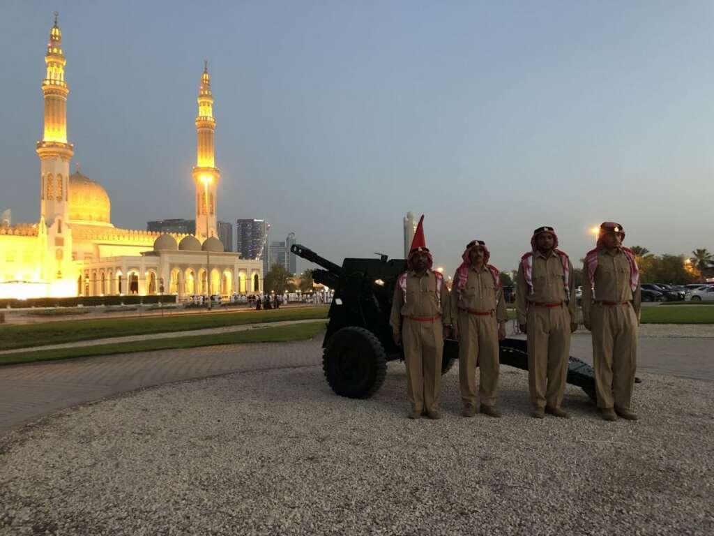 ramadan, coronavirus, covid-19, ramadan cannon, dubai police, Al Khawaneej, Atlantis the Palm, Burj Khalifa