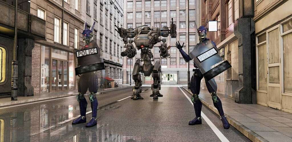 Soon, robots, police, Expert, UAE,