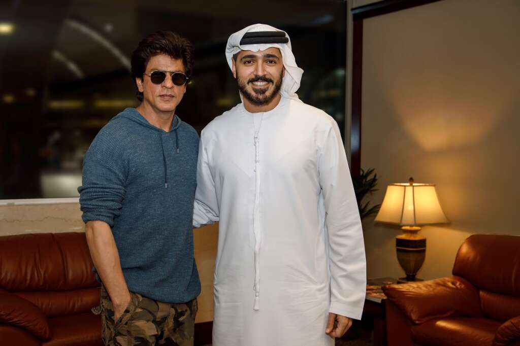 Video: Shah Rukh Khan back in Dubai for film shoot