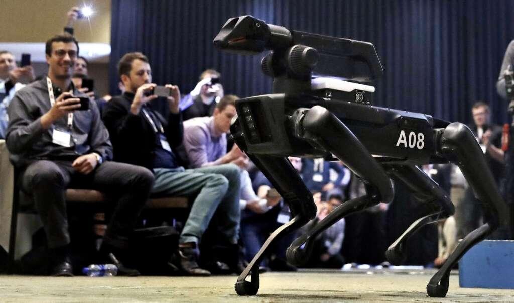 technology, robots, world